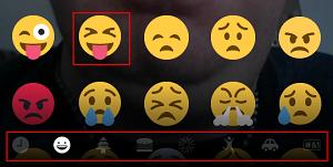 Snapchat add emojis screen