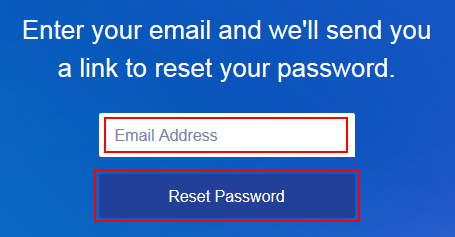 How to get Pandora to send you a password reset email