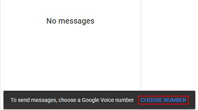 Set up Google voice number