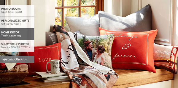 Shutterfly prints and gifts