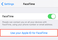 Sign in to Apple account