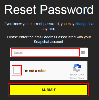 How to Reset a Snapchat Password - Free Snapchat Tutorials