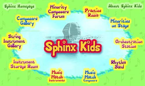 Sphinx Kids website