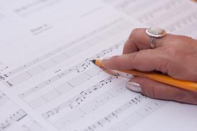 Sheet music study