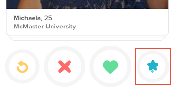 How to super like someone on Tinder