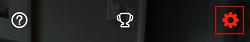 Snapchat settings icon