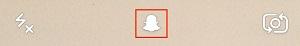 Snapchat options icon