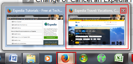 How to switch between or close browser windows