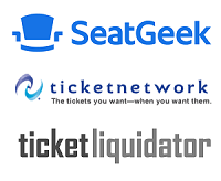 Ticket dealer logos
