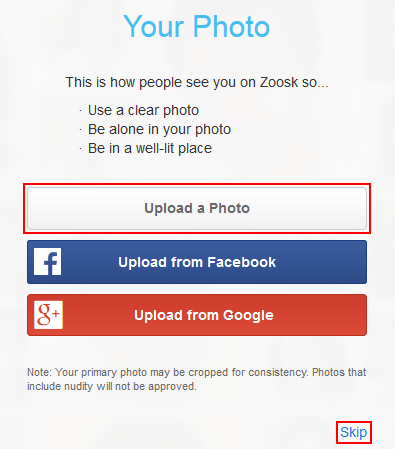 How to Create a Zoosk Account -- Free Step-by-Step Zoosk