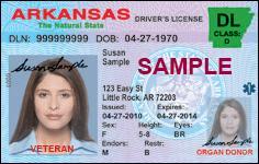 Veteran Driver License