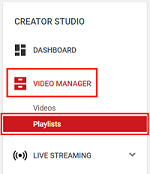 Video Playlist Manager