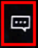 The caption button is a small square with three dots inside, and allows you to add subtitles or alter caption settings