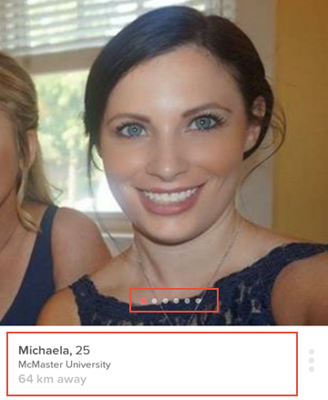 How to view the profile of a potential match on Tinder