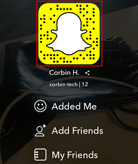 View Snapcode