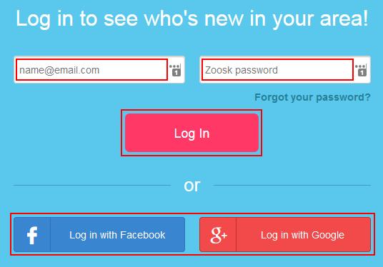 Login and password zoosk Zoosk Login