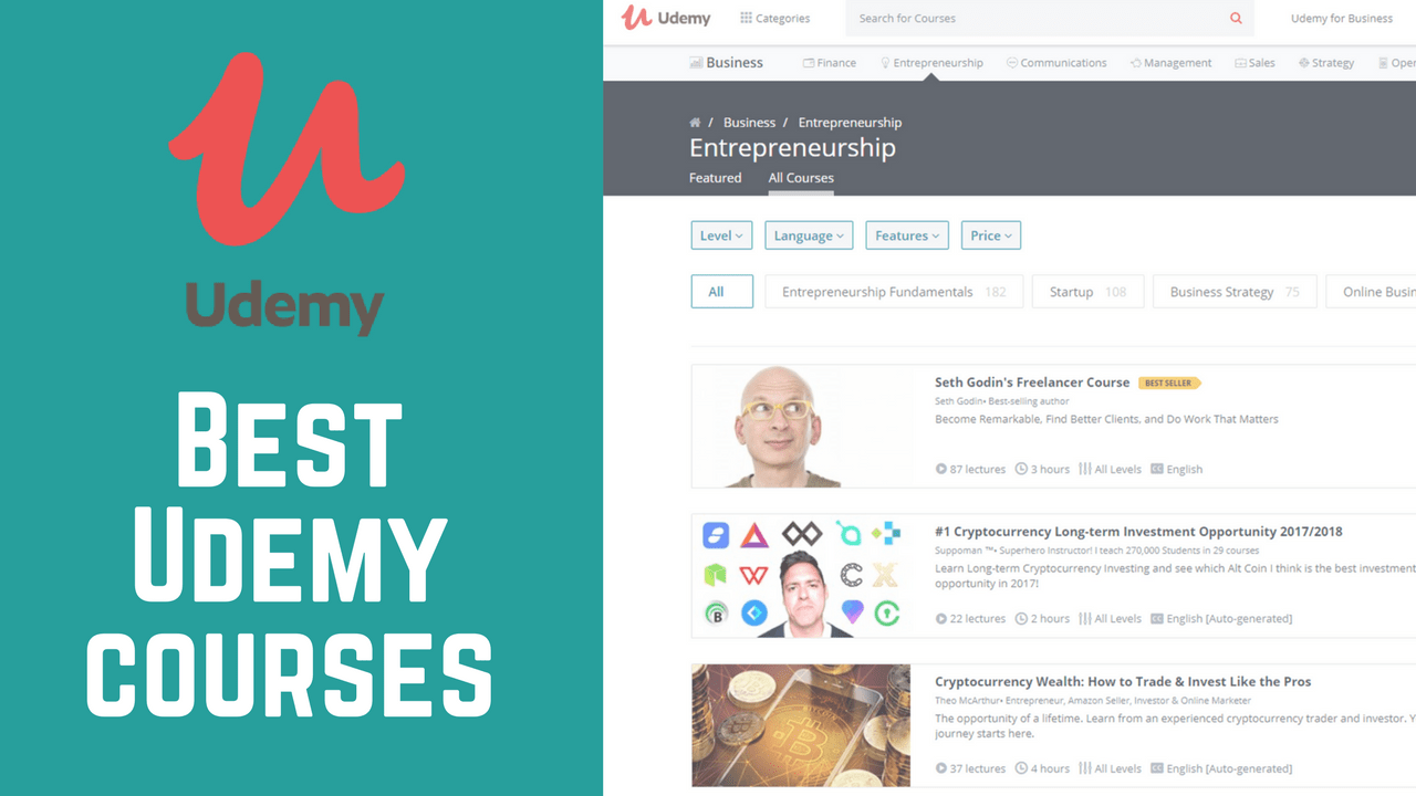 Best 33 Udemy Courses to Improve Your Tech Skills