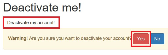 Deactivating your Wix account