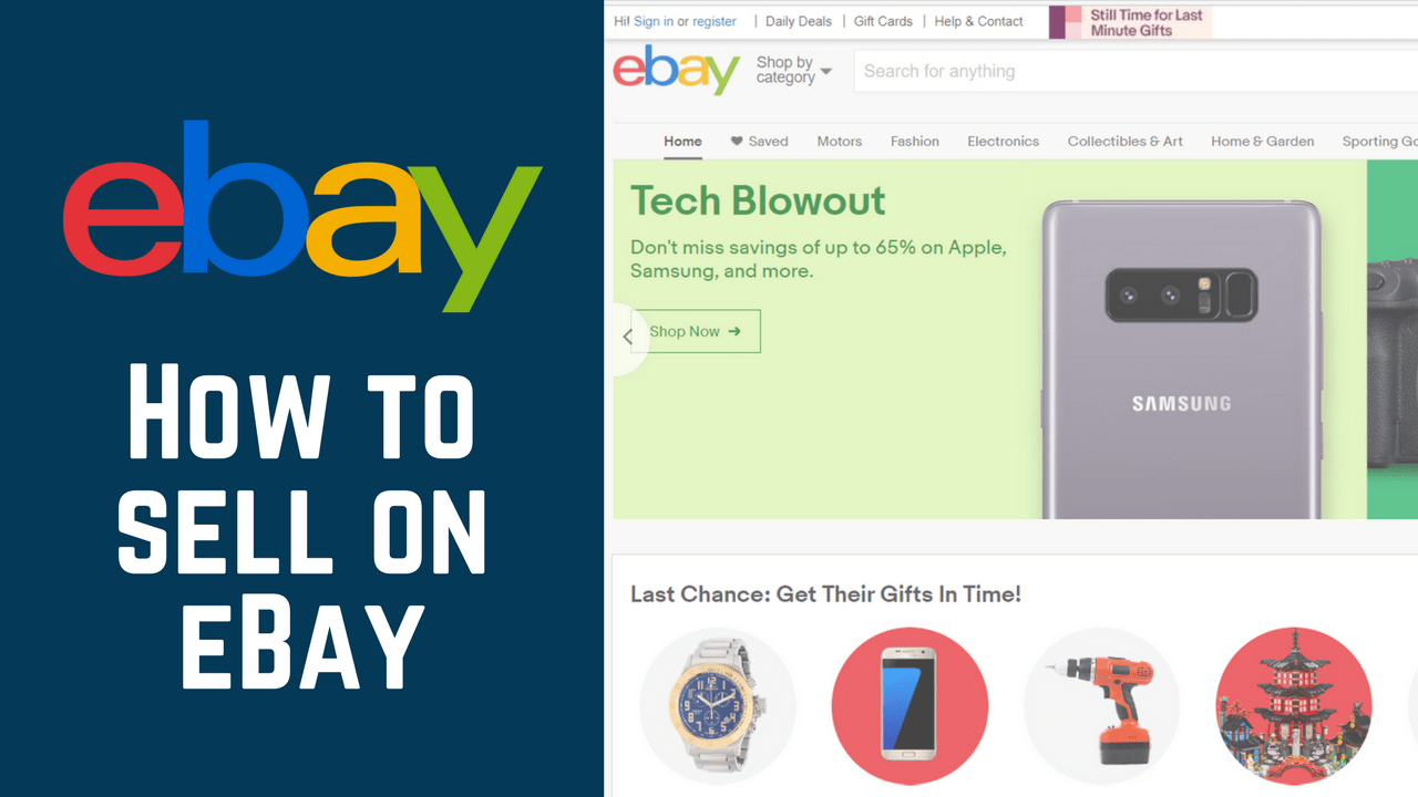 How To Sell On Ebay Course Free Tutorials For Making Money With Ebay