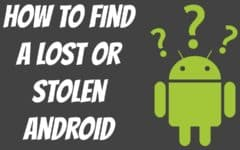 How to Find a Lost or Stolen Android Device header