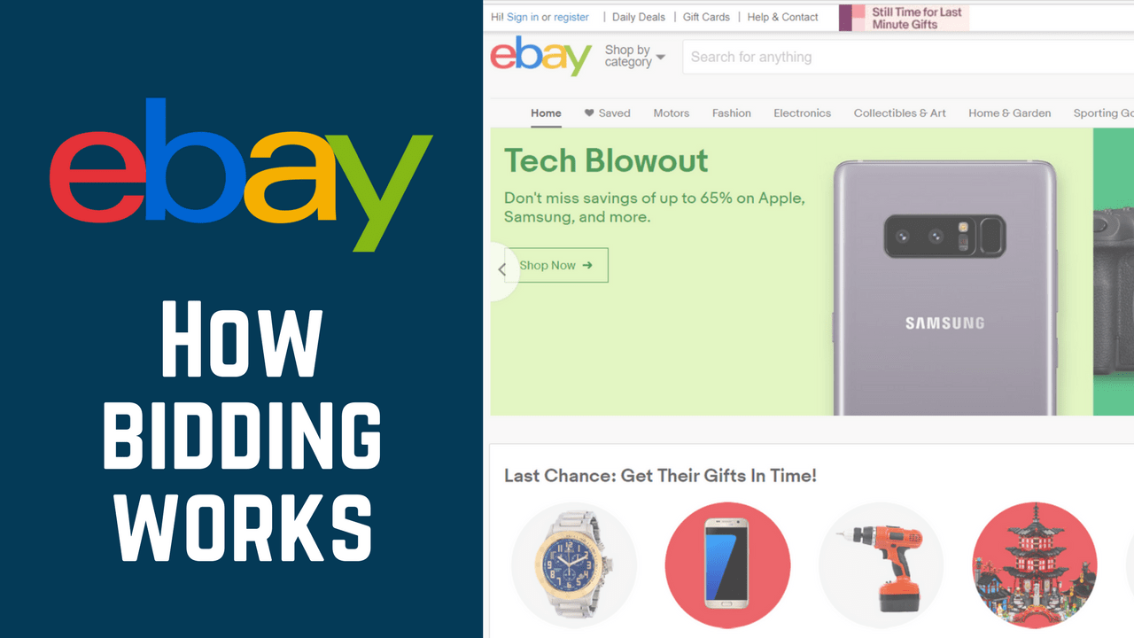 How Does Bidding And Automatic Bidding On Ebay Work