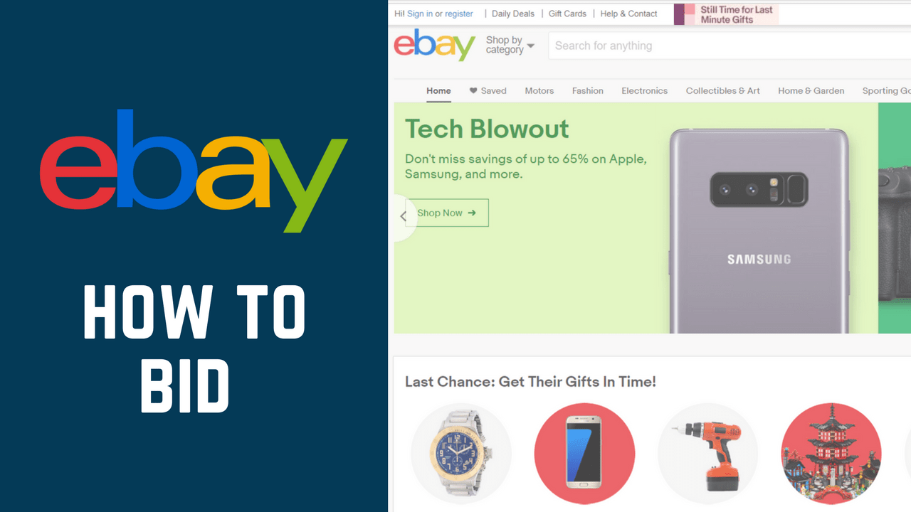 How to Bid While Shopping on eBay - Free tutorial at ...