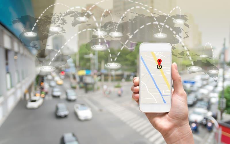 Snapchat Maps header (new)