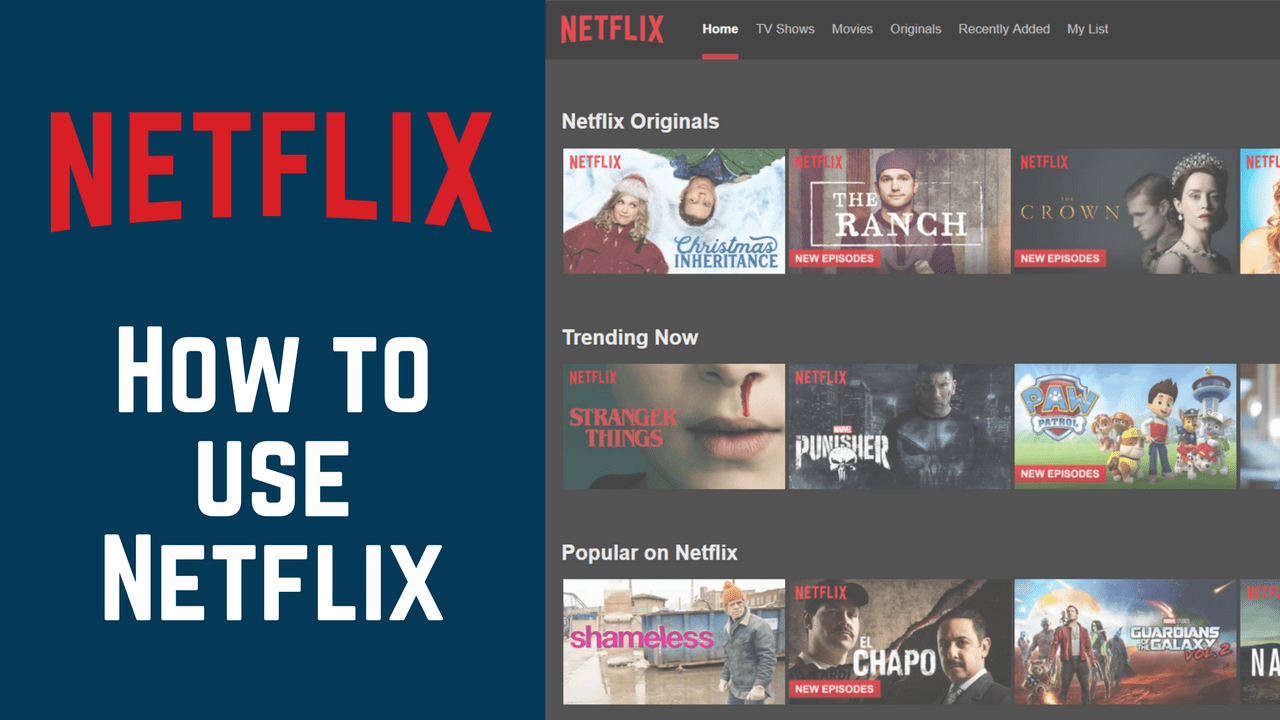 How To Use Netflix Course Free Tutorials At Techboomers Com