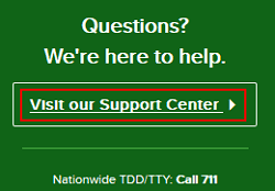 Go to the Angie's List Support Center