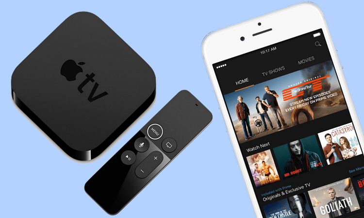 Apple TV and iPhone Video