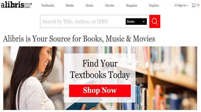 Alibris website