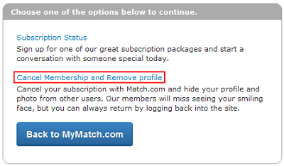 The Basics How to Cancel Your Membership at Match.com