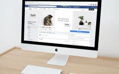 How to use Facebook for business header