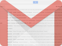 How to recover deleted Gmail emails header