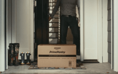 Amazon Pantry Delivered Package