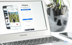 Viewing Instagram on the regular Web header