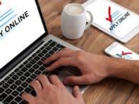 Finding a job online header