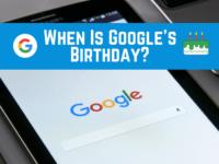 History of Google Header
