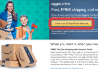 How to Get an Amazon Prime Free Trial header