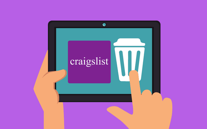 How to Delete a Craigslist Account header