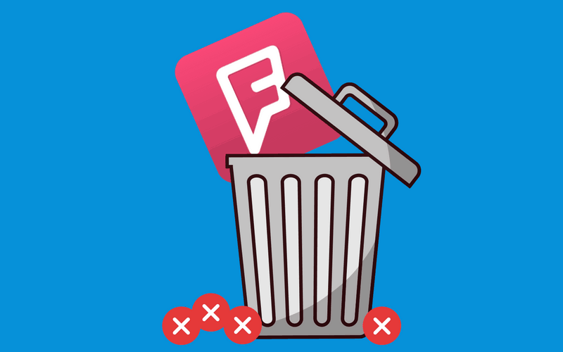 How to Delete a Foursquare Account header