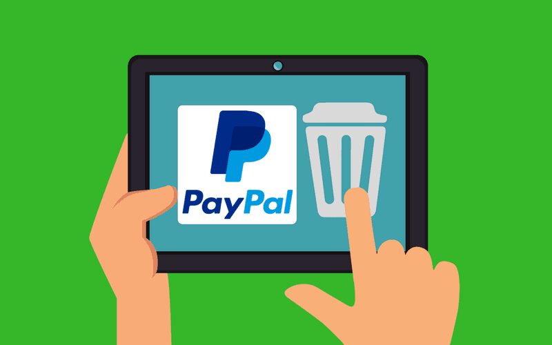 How to Delete a PayPal Account header