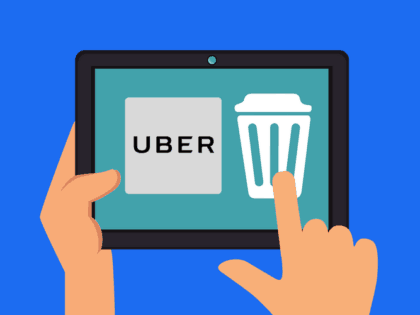 How to Delete an Uber Account header