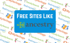 Ancestry competitor logos