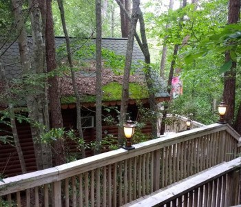 A cottage in Tennessee listed on TripAdvisor
