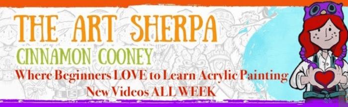 The Art Sherpa banner