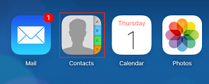 iCloud Contacts app icon