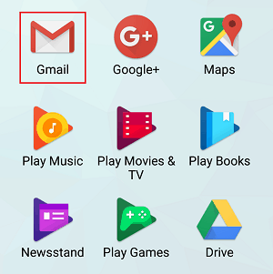 Gmail app icon