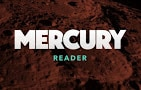 Mercury Reader extension thumbnail