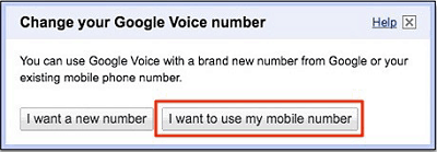Port existing mobile number